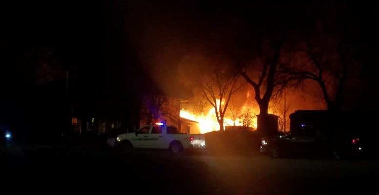 Chicken Coop Fire in Broken Bow