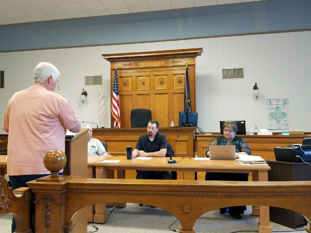 Commissioners Look Ahead To Future Projects, Will Receive Daily Plan From Haystack Wind Project