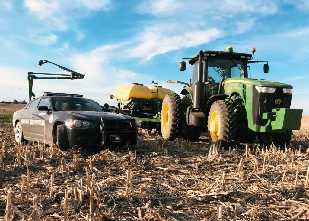 Stay Alert During Planting Season, Ag Implements Traveling From Field to Field