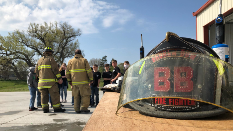 Broken Bow 5th And 6th Graders Take Part In Jr. Fire Patrol At Broken Bow Fire Hall (PICTURES)