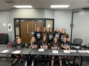 Broken Bow Girls Basketball Hosts 8th Grade Signing Day