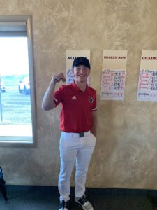 Denson, Smith, Walker and Downing Qualify for Boys State Golf Championships - Burwell Qualifies as a Team