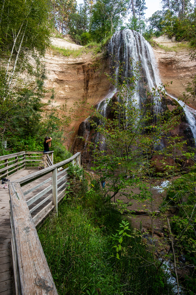 Reservable campsites among improvements at Smith Falls