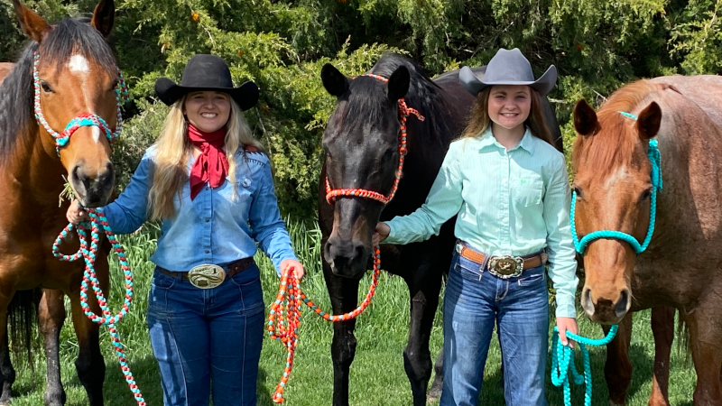 Making A Business Out Of It: Nebraska Cowgirls, Sisters Run Successful Braiding Business