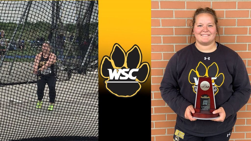 WSC Hammer Throw Results From NCAA DII Outdoor Nationals, Scheil Places Runner-Up