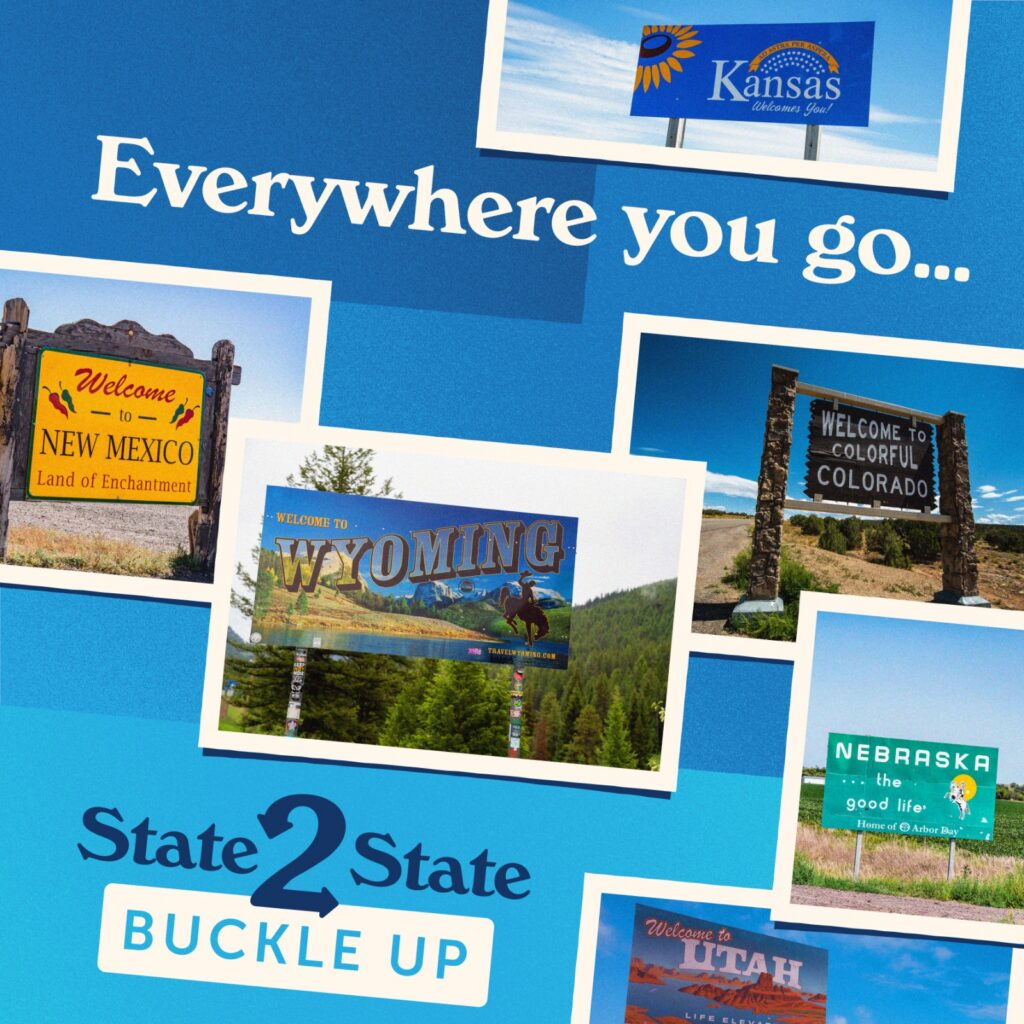 'State2State' Seat Belt Messaging Campaign To Cover Multiple States