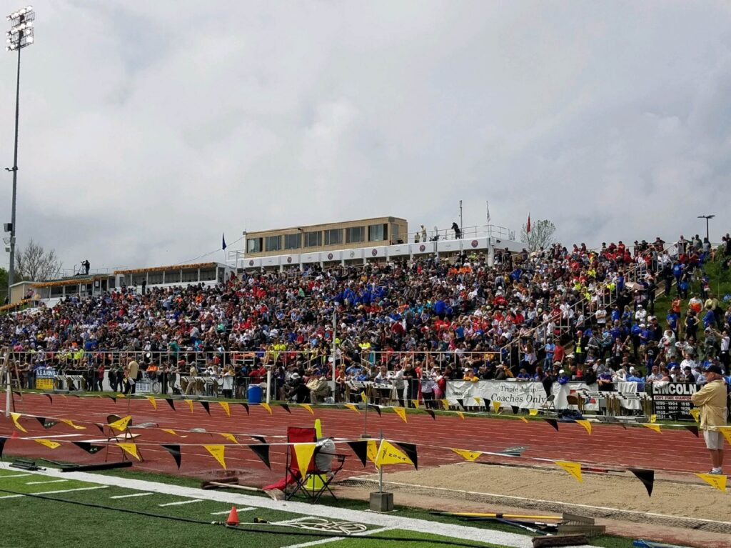 Session One, Class D State Track & Field Championship Area Results