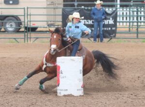 Area Cowboys and Cowgirls Compete at Burwell