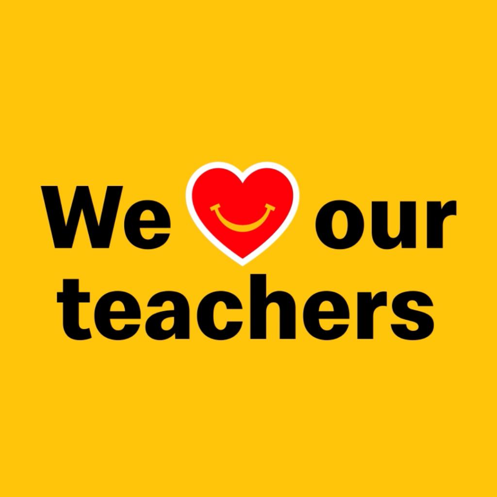 Nebraska McDonald's Celebrate Teacher Appreciation Week