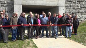 City of Wayne Walking Trail Hosts Ribbon Cutting During Chamber Coffee, ChamberPercs Friday