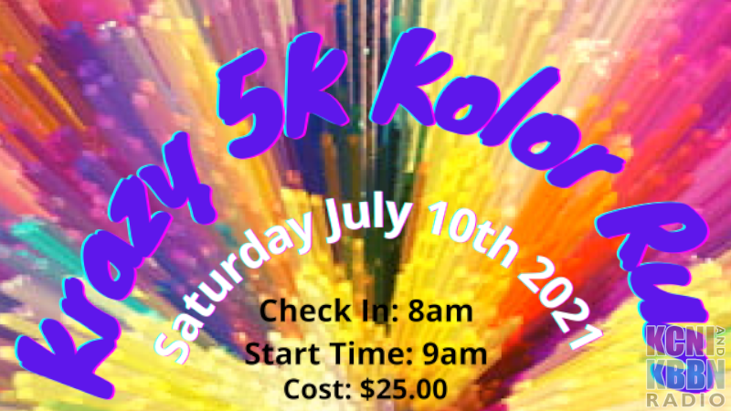 """Chamber """"Krazy 5K Kolor Run"""" Still Has Spots Available, Get Registered!"""