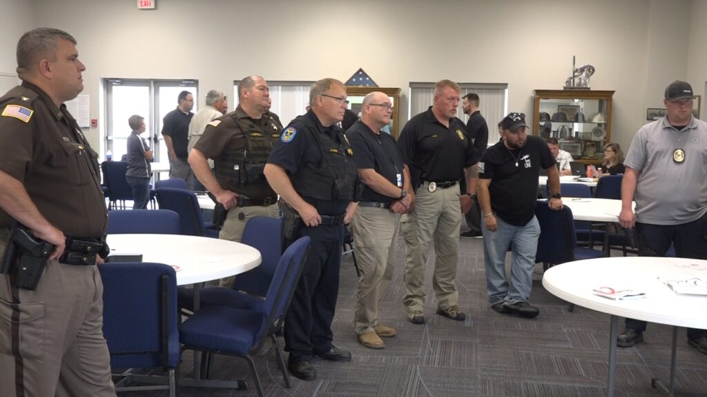 Local Law Enforcement Agencies Provided Training On New AEDs