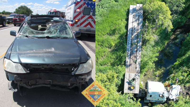 Suspected Minor Injuries In Two Separate Accidents From Last Week