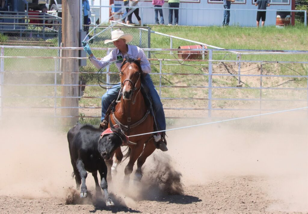 Nebraska High School Rodeo Contestants Compete at Three Rodeos During the Weekend