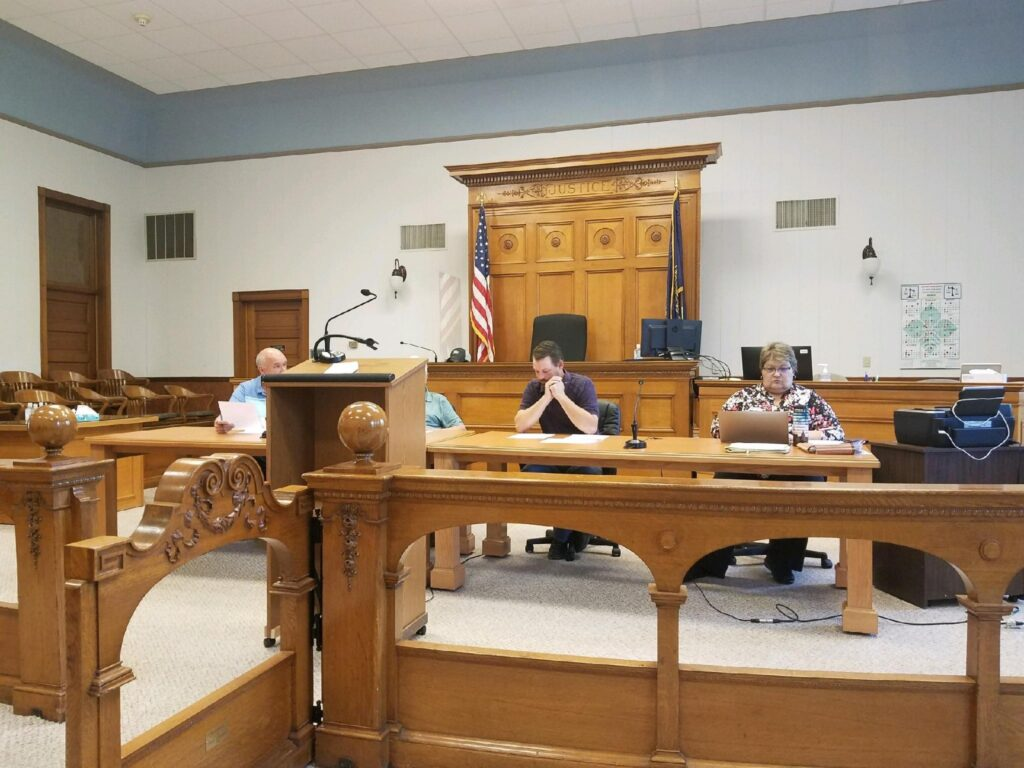 Commissioners Approve Sidewalk And Curb Replacement Quote, Will Request Restoration Project Officials To Attend Next Meeting