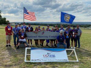One Box Rock Crushers Claim 2021 USAYESS Junior Clay Target National Championship