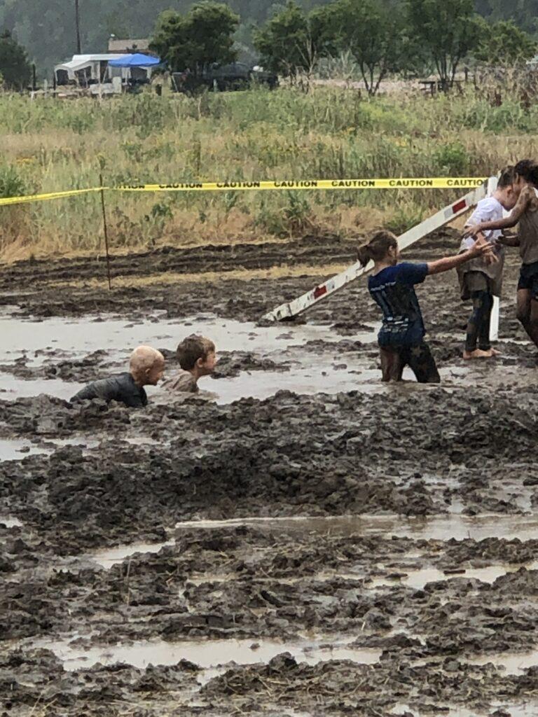 International Mud Day Fun