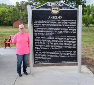 New Historical Marker Placed in Anselmo in Memory of Fagan Family