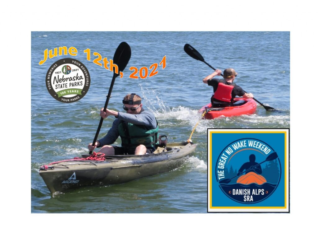 Kayak Enthusiasts Invited To Danish Alps SRA For The Great No Wake Weekend June 12