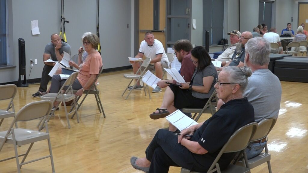 Town Hall Addresses Recent Survey, Old Bathhouse Renovation Ideas For Grant Funding