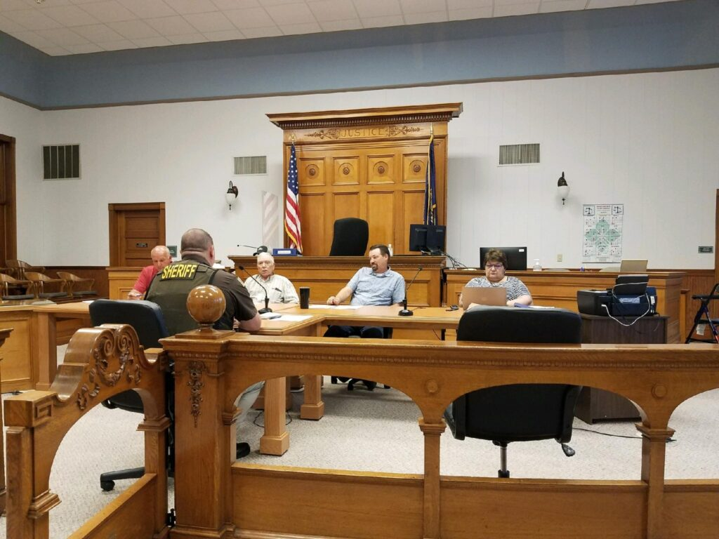 Commissioners Hear Update On Return Of Distress Warrants, Select Financial Audit Proposal