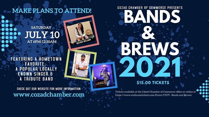 Cozad Bands & Brews 2021