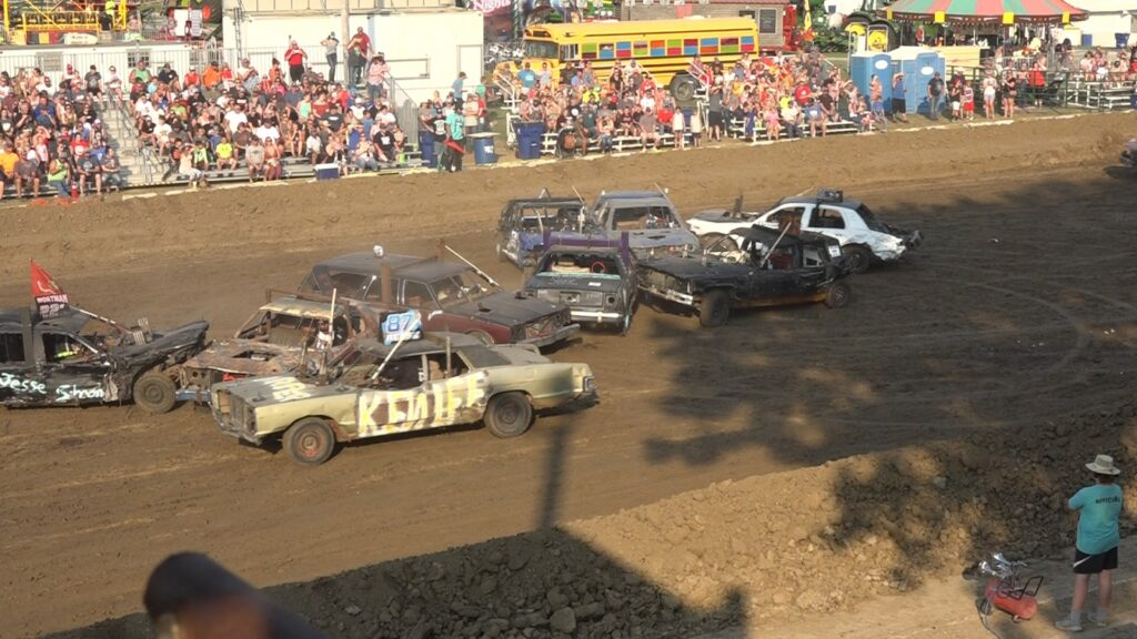 Another Jam Packed Night For Demolition Derby Action