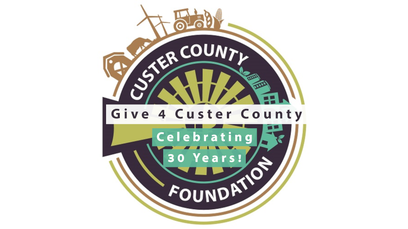 Give 4 Custer County Raises $165,030