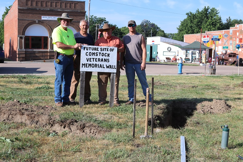 Church steeple to be added to Comstock's Veteran Memorial Wall
