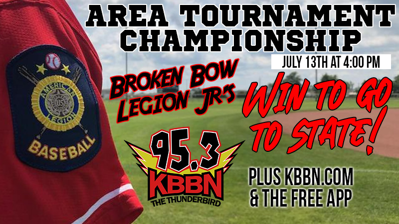 Broken Bow Juniors Play for Area Tournament Title Tonight on KBBN
