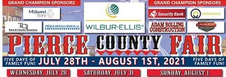 Pierce County Fair Returns July 28 – August 1