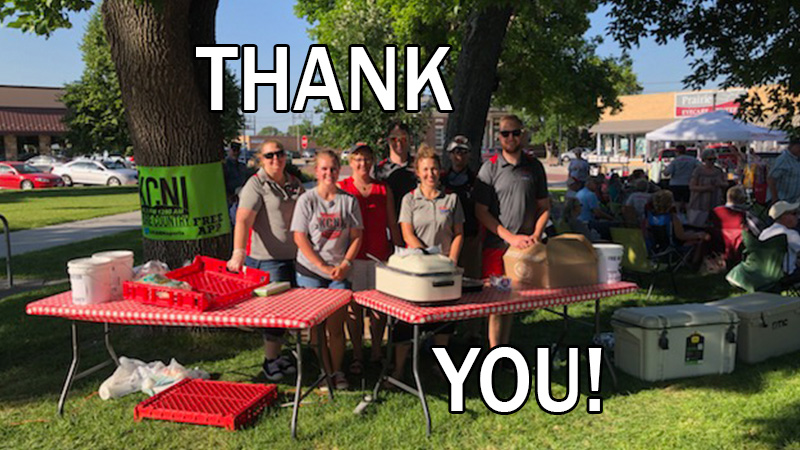 """Thank you for your donations to """"Give 4 Custer County"""""""