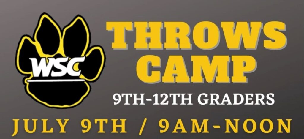 High School Athletes, Coaches Invited To Sign-Up For Shot Put & Discus Camp