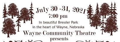 Wayne Community Theatre To Offer Melodrama In Bressler Park July 30 – 31