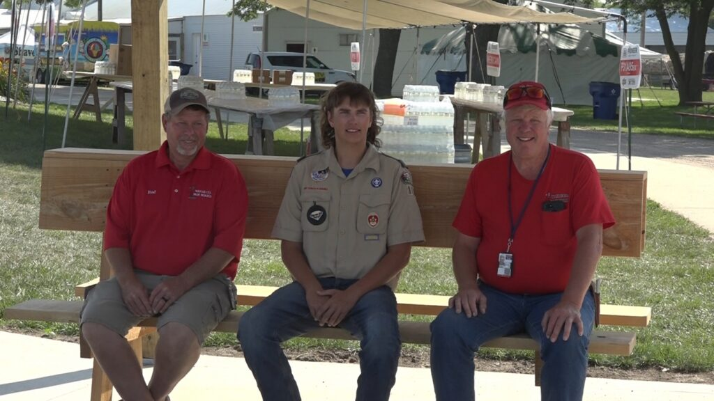 Eagle Scout Project Put On Display At Wayne County Fairgrounds