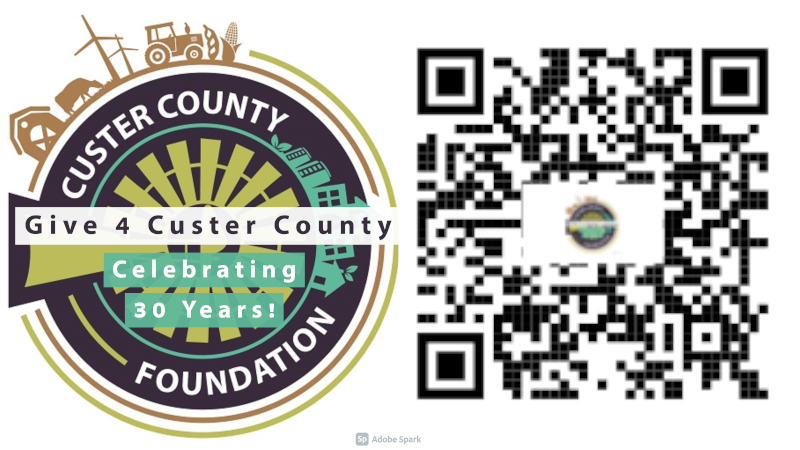 Give 4 Custer County: Online Donations Accepted July 13-15, In Person Donations End July 15