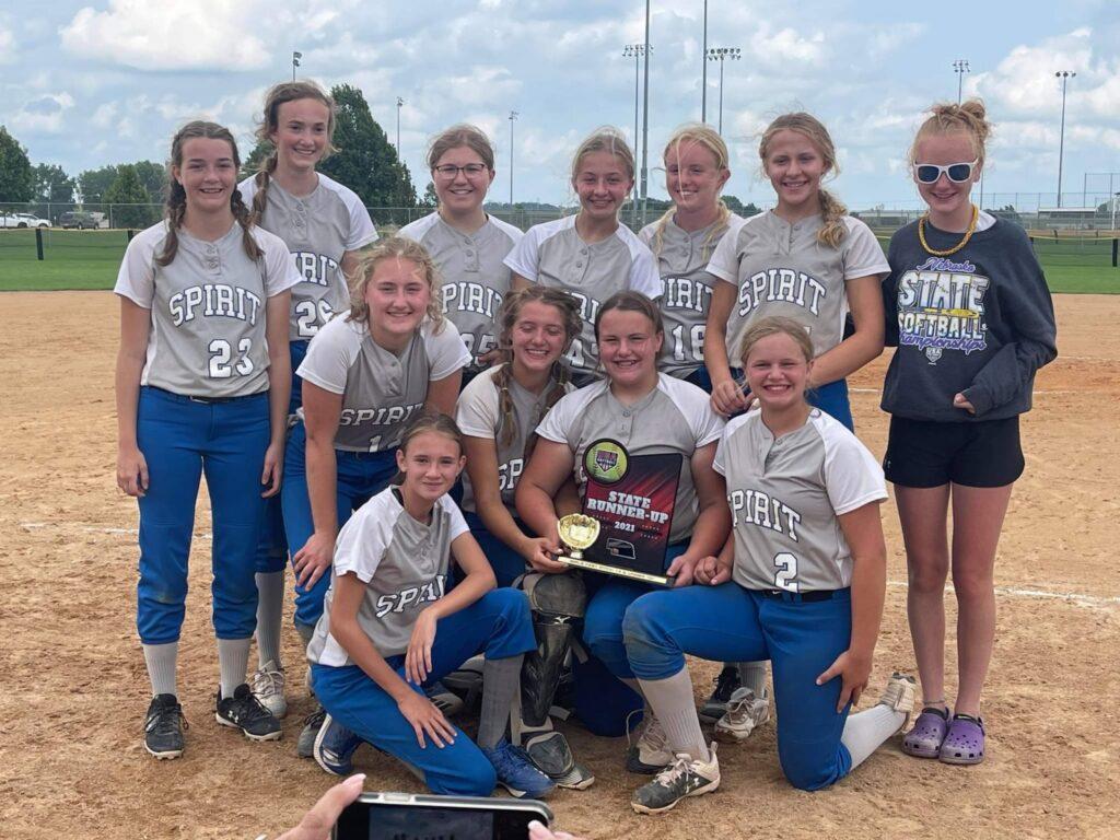 Broken Bow Spirit 14U Team Places 2nd at Class D State Tournament