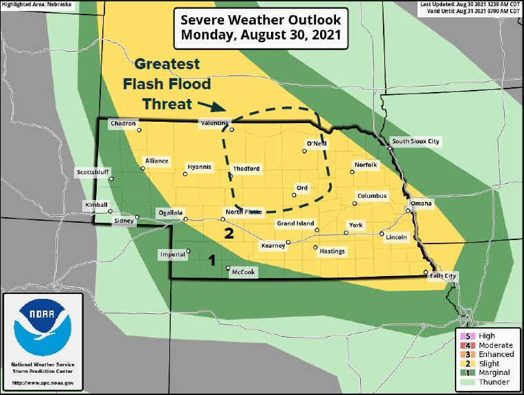 Flooding, Hail, High Winds, And Possible Tornados In Monday (8/30) Storm