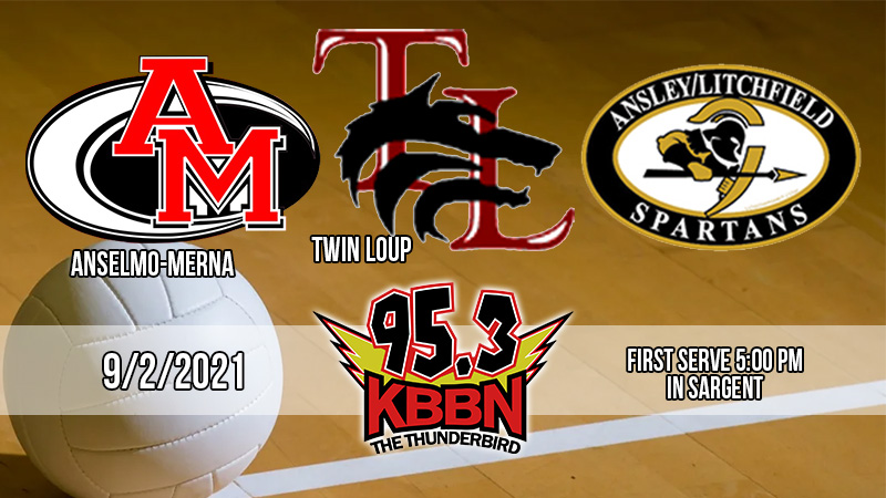 Local Sports Calendar 9/2 – Area Volleyball (Twin Loup Tri) on KBBN