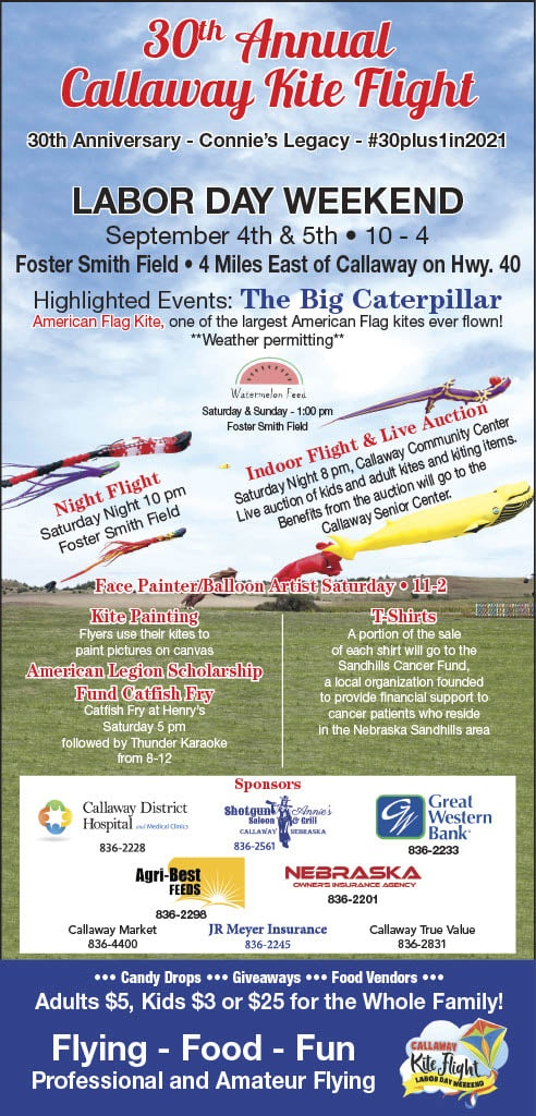 30th Annual Callaway Kite Flight September 4-5