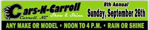 Park & Run Fundraiser, Cars-N-Carroll Taking Over Community Sunday