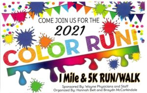 Color Run To Feature One Mile Or 5K Run/Walk August 14