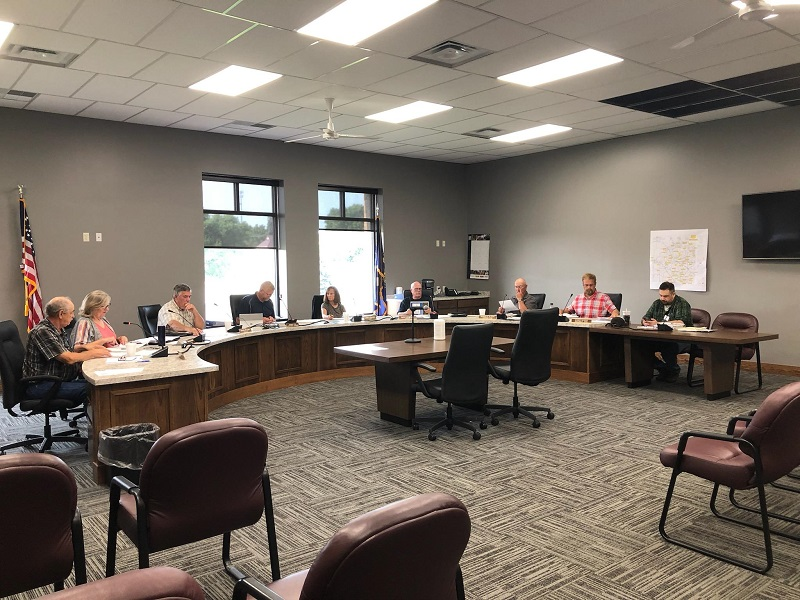County Supervisors Discuss Budgets During Morning Meeting