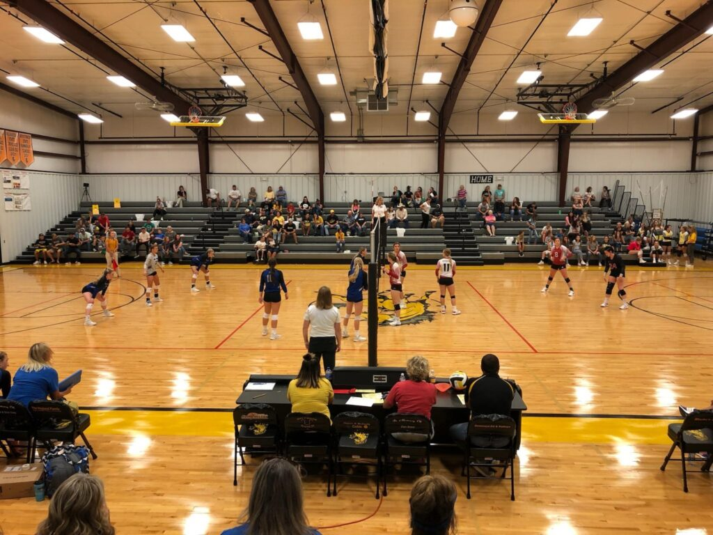 Volleyball Scores 8/31