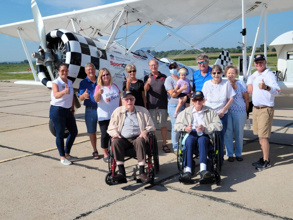 Custer County WWII Veterans Honored with Dream Flight (Reformatted)