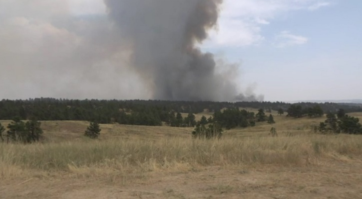 Firefighters from Custer County Assist with Hackberry Fire