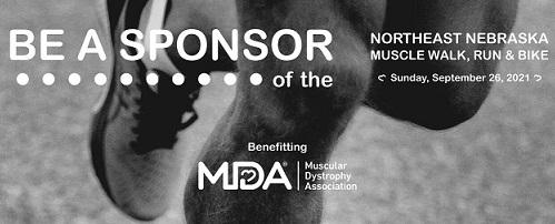 Sponsorship Deadline Is Tuesday For Northeast Nebraska Muscle Walk, Run, Bike; Event Is September 26