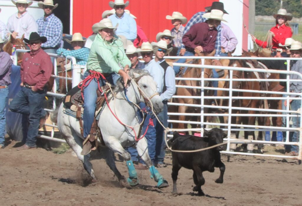 Sid Miller of Merna and Dane Pokorny of Stapleton Claim All Around Honors at Opening High School Rodeos of Fall Season