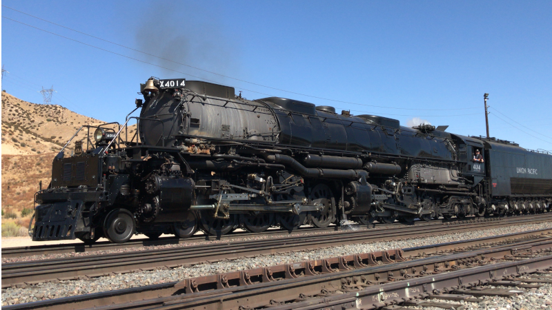 1940's Steam Locomotive 'Big Boy' To Make Whistle Stop In Cozad On Sunday