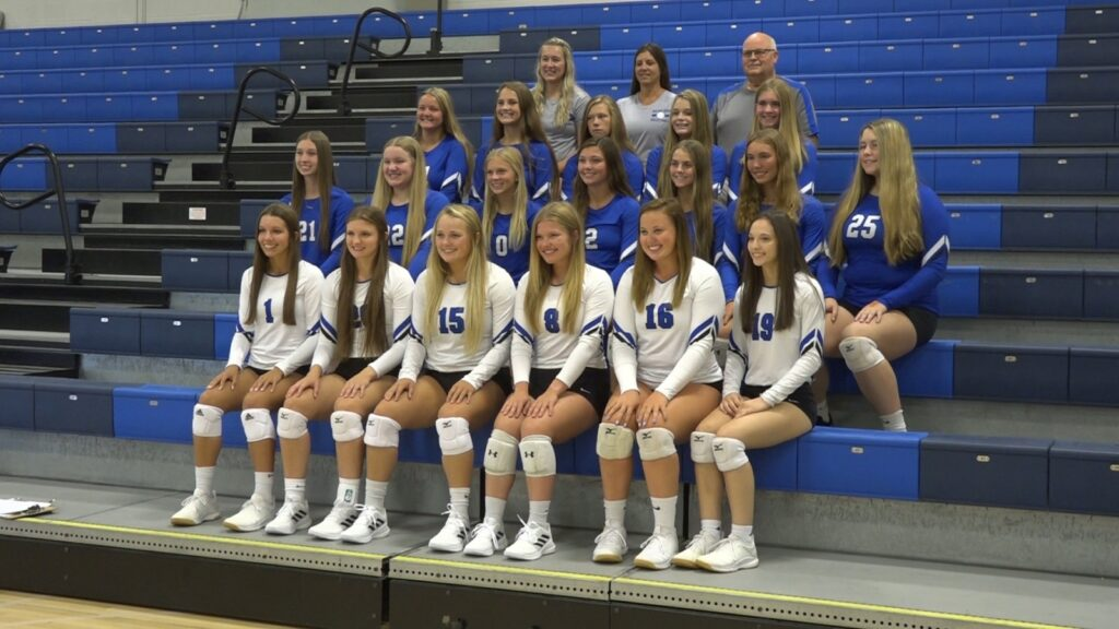 Blue Devil Volleyball Finishes Tough Third Set For Home Sweep